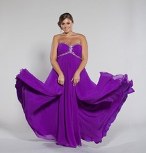 Custom New Made Sweet Heart Floor Length Empire A-line Evening Gown 2015 Used Plus Size Prom Dresses For Fat Women(sf-p12)_br