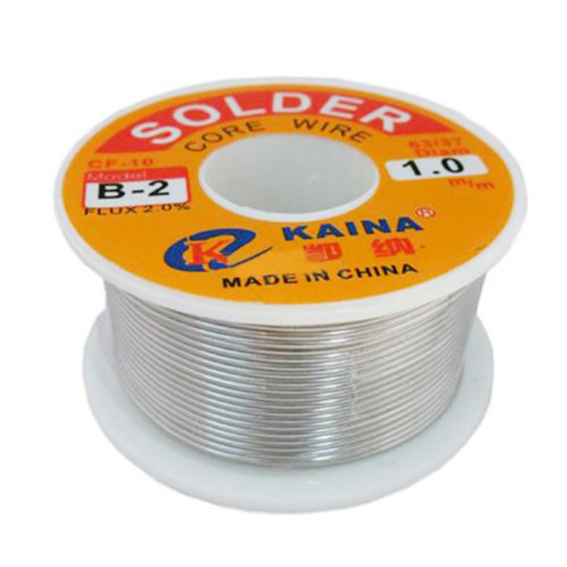 USA Rosin Core Solder Tin Lead Line Flux Soldering Welding Iron Wire Reel 63//37