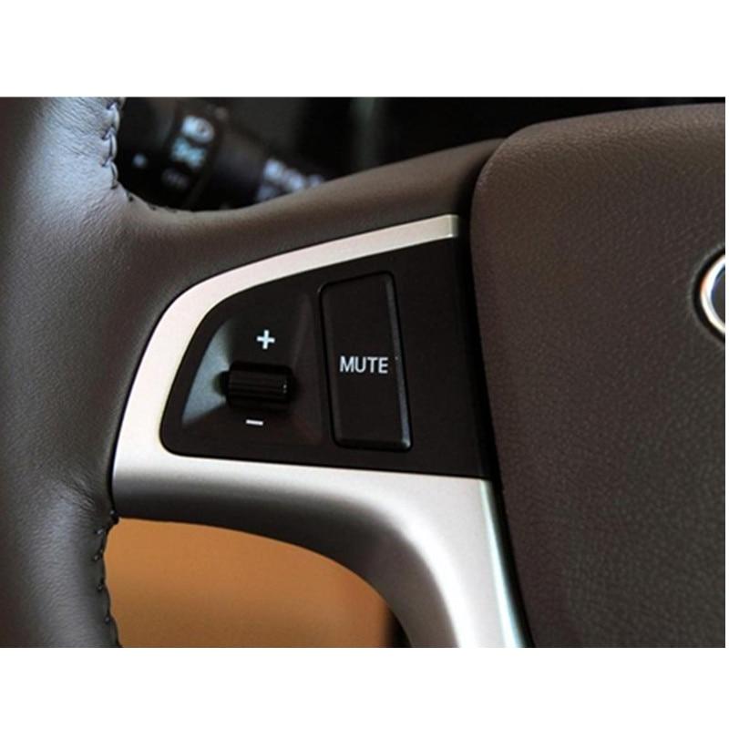 Araba Direksiyon Kapağı Ses Ve Kanal Kontrol Düğmesi Hyundai - Araç Içi Aksesuarları - Fotoğraf 4