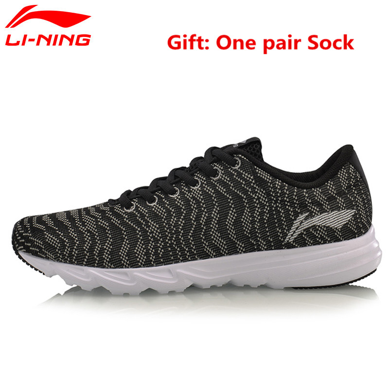 Li-Ning 2017 New Light Running Shoes for Male Breathable Summer Sneakers Simple Comfort Men's Sports Jogging Walking Shoe L640 original li ning men professional basketball shoes
