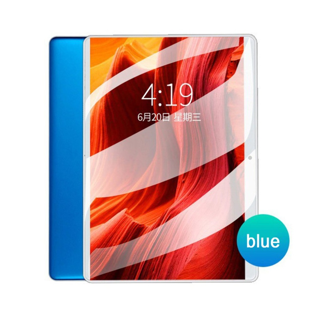 Global Version Tablet Android 7.0 10.1'' Tablets PC Octa Core 2GB RAM 32GB ROM 1280*800 IPS 2.5D Glass Kids Tablets 10.1 Inch