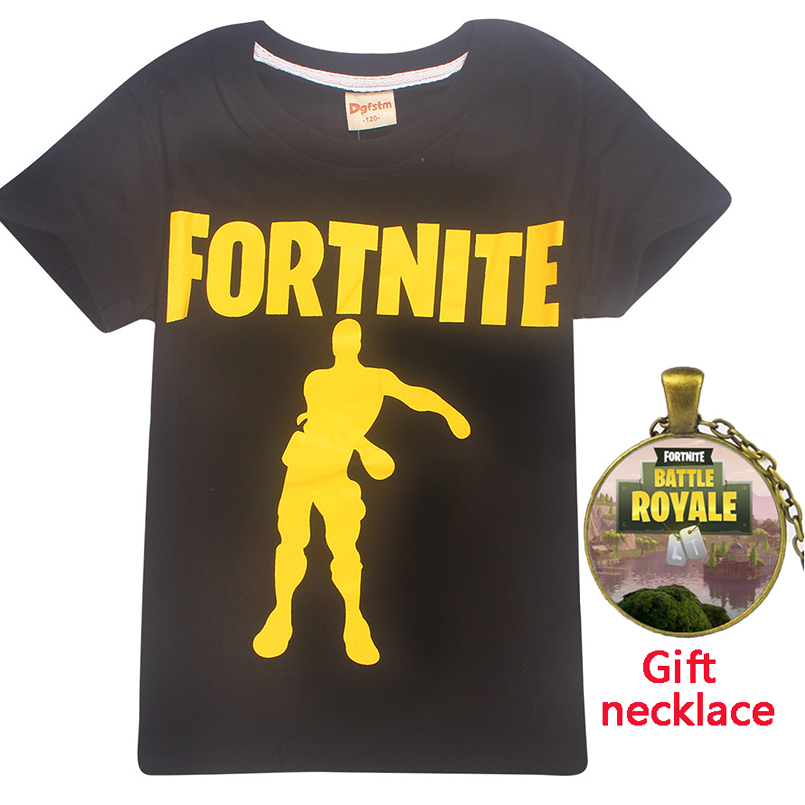 fortnite battle royale groot T-shirts for teens boys summer tops 2018 Roblox game cartoon Minecraft girls black kids clothes tee