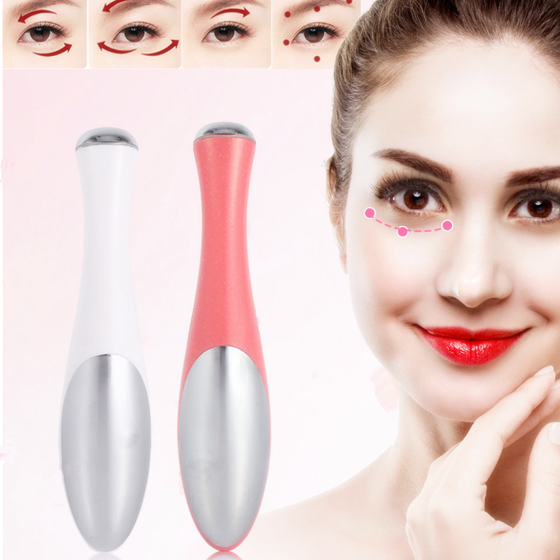 Mini Vibration Eye Massage Face Massager Electric Minimize Dark Circles Facial Skin Lifting Anti Wrinkle Skin Care Device healthsweet 24k gold mini massage device electric eye massager facial vibration thin face magic stick anti bag pouch wrinkle pen