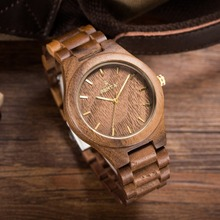 2018 New Fashion Man Wooden Watches Brand wood watc