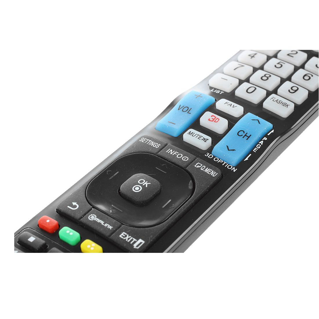 NEW LG TV Blu-ray DVD player Universal Remote NO programming Needed