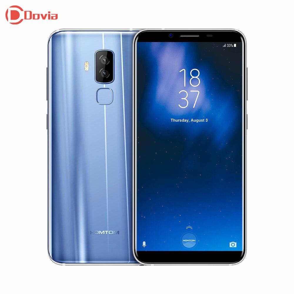 HOMTOM S8 4G Smartphone 5,7 zoll MTK6750T Smart Geste Finger Scanner 4 GB RAM 64 GB ROM 16.0MP + 5.0MP Handy