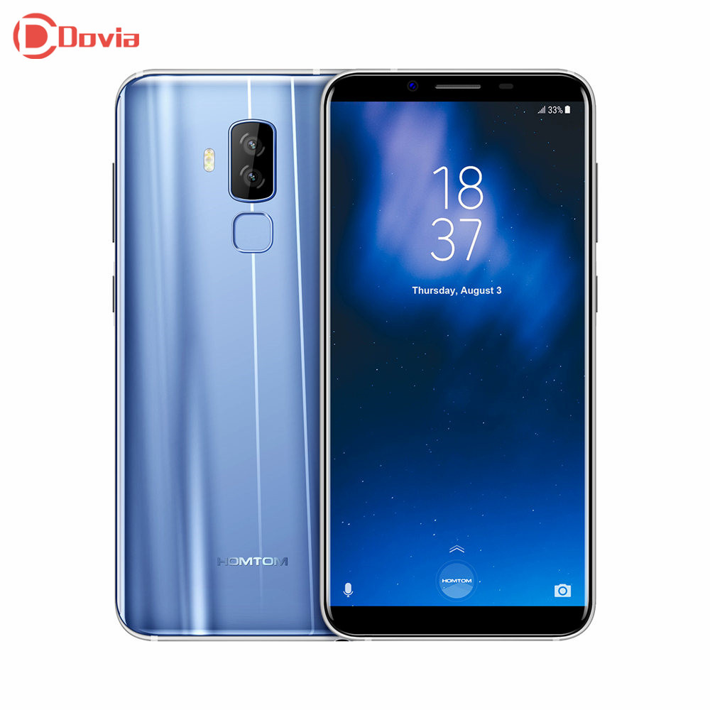 HOMTOM S8 4g Smartphone 5.7 pollice MTK6750T Smart Gesto Dito Scanner 4 gb di RAM 64 gb ROM 16.0MP + 5.0MP Del Telefono Mobile