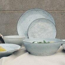 NIMITIME в скандинавском стиле керамический Ресторан отеля рисовая чаша Салатница тарелка посуда