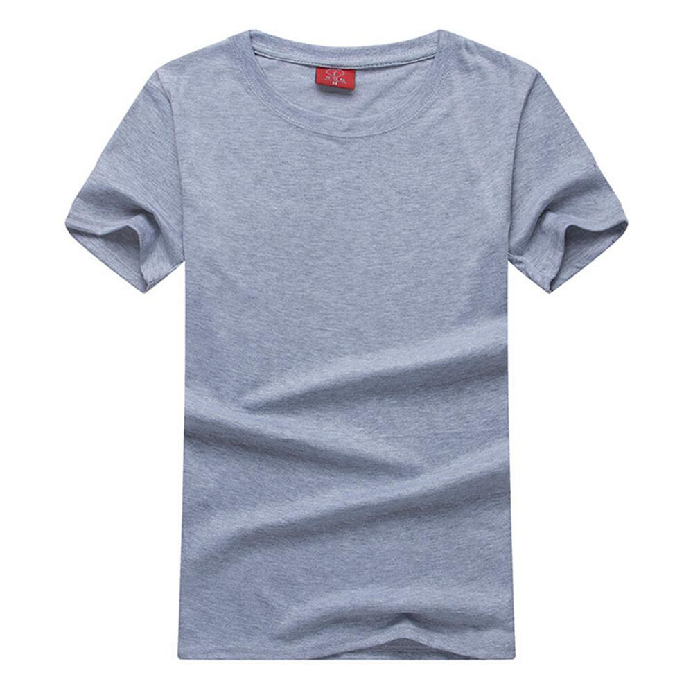 blank t shirt cotton wholesale t shirt both for women and men solid plain tees shirts crossfit tshirt summer tee tops