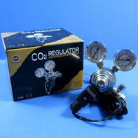 AC110 240V Aquarium Fish Tank CO2 Regulator Adjustable Pressure Solenoid Magnetic Valve Marine And Planted CO2