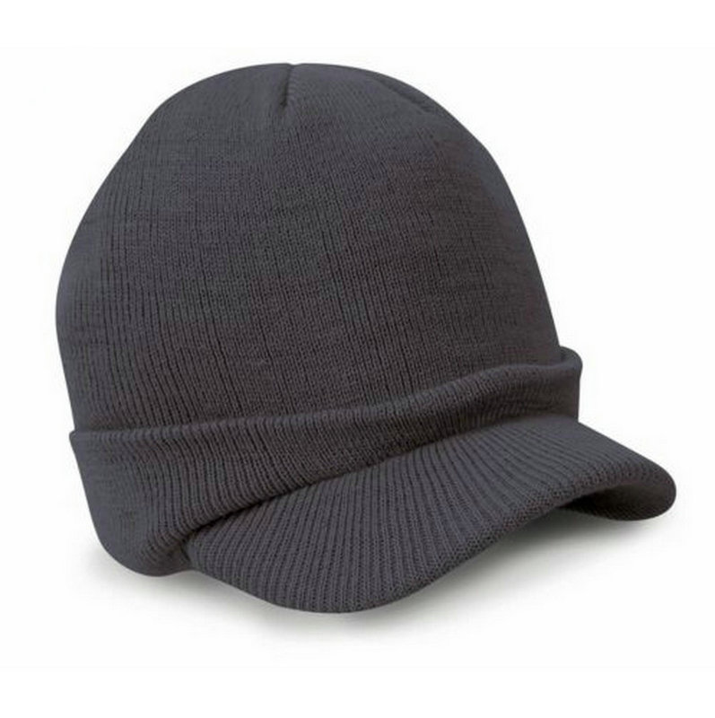 Gaya busana Tentara Topi Laki-laki Topi Musim Dingin Dengan Visor - Aksesori pakaian - Foto 6