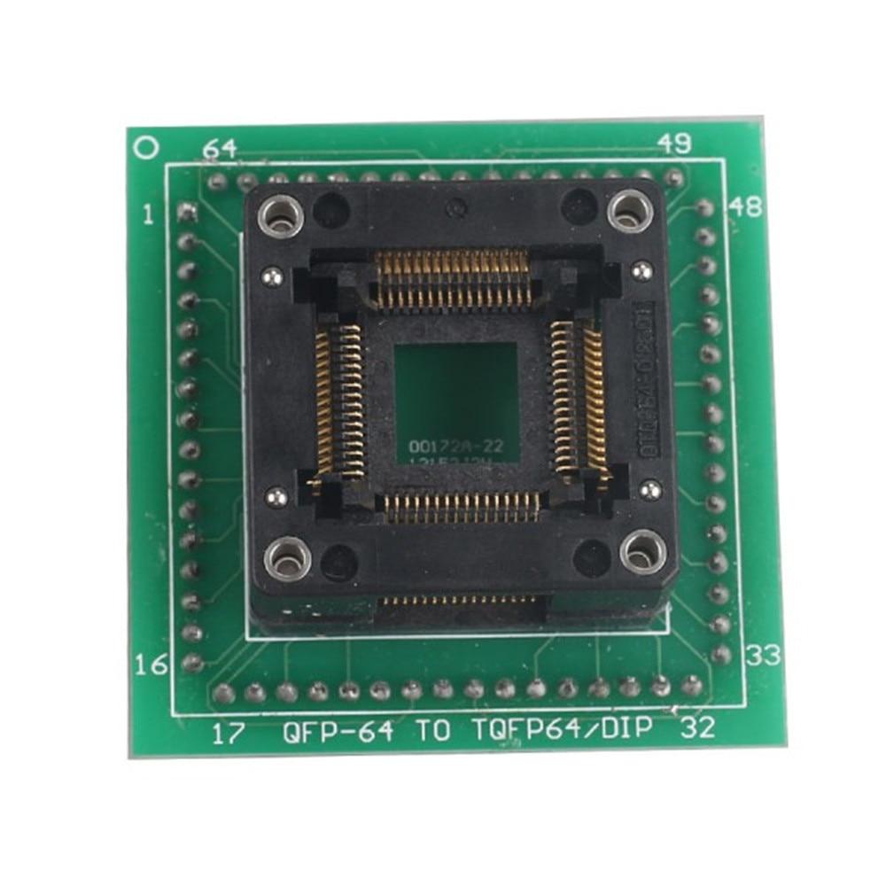 HC05 HC08 QFP64 Adapter Use for ETL Programmer and XPROG M Programmer