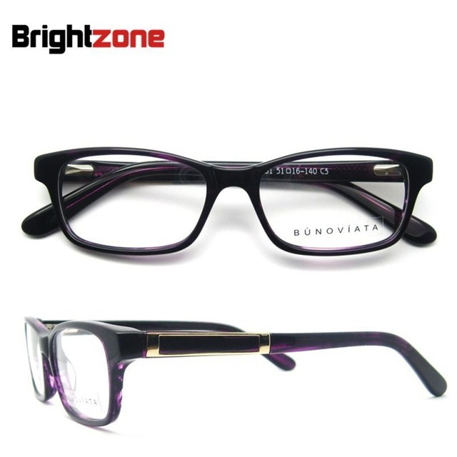 Eyeglasses with prescription lenses 2017 armacao of glasses acetate green full frame grade spectacle frame B140257 free shipping