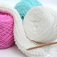 600g/Lot 3 Balls Natural Silk Soft Smooth Natural Bamboo Cotton Knitting Yarn For Crochet Hand Knitting Yarn China Laine Coton