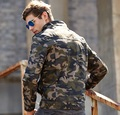 winter style American military wind camouflage jacket men Outerwear & Coats fashion brand zipper jacket for men army green khaki