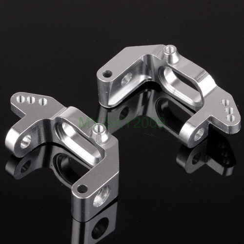 02132 For 1//10 Upgrade Parts HSP 102010 Aluminum Front Hub Carrier L//R