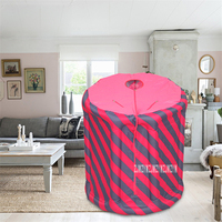 TW PS05 Portable Indoor Foldable Steam Tent Sweating Box Home Steaming Room Steam Bath Box Fumigation Machine 2L 110V/220V 1000W