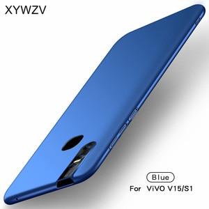 Image 2 - ViVO V15 funda Silm a prueba de golpes cubierta protectora de lujo Ultra Delgado, suave funda de PC para teléfono duro para ViVO V15 contraportada para ViVO V15