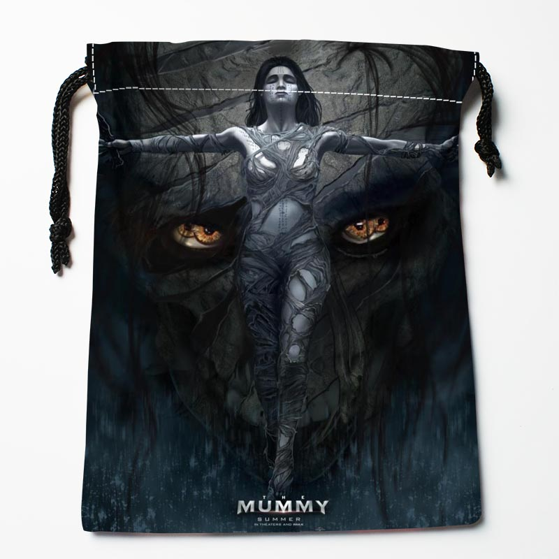 New Custom The Mummy Bags Custom Drawstring Bags Printed Gift Bags 27x35cm Compression Type Bags