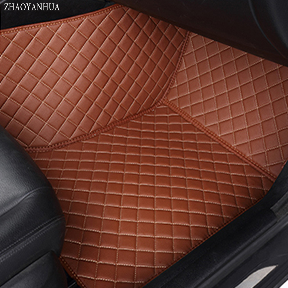 ZHAOYANHUA Car floor mats for Mercedes Benz GLA CLA GLK GLC G ML GLE GL GLS A B C E S W204 W205 W211 W212 W221 W222 W176 liners auto fuel filter 163 477 0201 163 477 0701 for mercedes benz