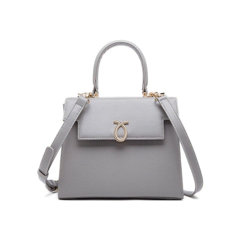 ФОТО Fashion Bags Handbags Women Famous Brands OL Lady High Quality Top Handle Bag Bolsa Feminina Women Leather Handbags Shoulder Bag