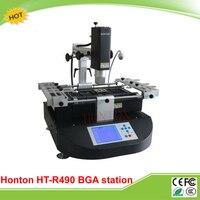 Original bga estación HT-R490 Honton con 3 zona de temperatura de aire caliente y de infrarrojos