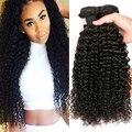 Норка Бразильский Девственные Волосы 4 Пучки Бразильские Странный Вьющиеся Волосы Девственные Бразильские Вьющиеся Волосы Необработанные Вьющиеся Переплетения Человеческих Волос