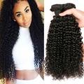 Mink Brazilian Virgin Hair 4 Bundles Brazilian Kinky Curly Virgin Hair Brazilian Curly Hair Unprocessed Curly Weave Human Hair
