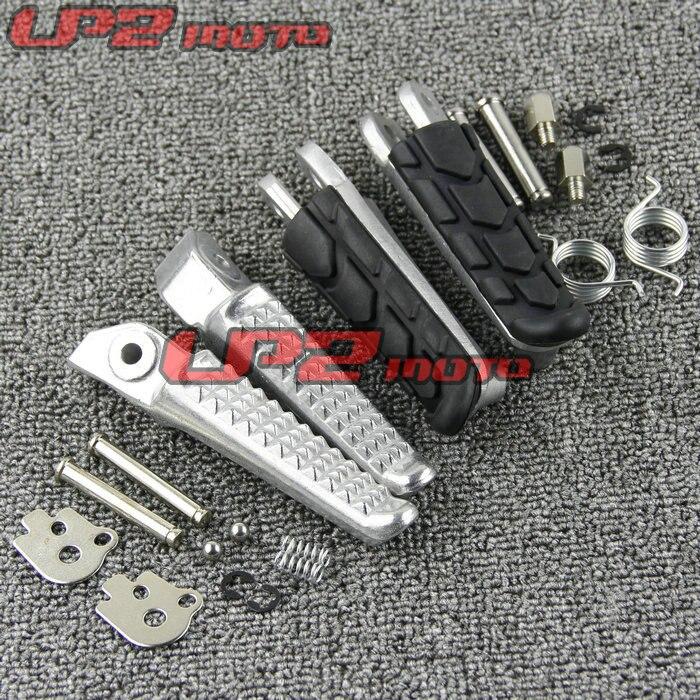 Delantero de la motocicleta/trasero reposapiés pie clavijas para Honda CB400 Superfour VTEC 1-4 CB250 CB900 Hornet 250 900 CB1300