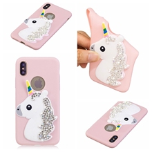 fashion The New Selling for Apple iPhone X iPhone x a1865 a1901 A1865 Case smartphone Cases luxury soft shell Cute bear series