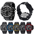 Men's Rubber Band LED Digital Sports Waterproof Diving Quartz Wrist Watch #2744  Brand New High Quality Luxury Free Shipping