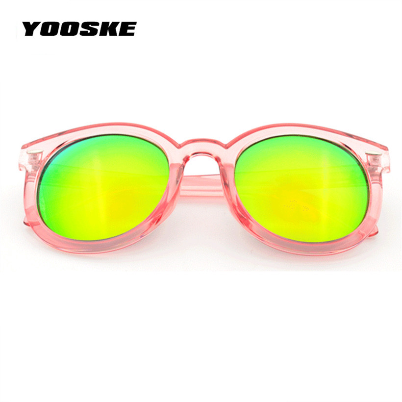 078f65a143e70 YOOSKE Oversized Pink Mirrored Vintage Women Sunglasses Brand Retro Female  Sun Glasses Cat Eye Women s Glasses Feminine-in Sunglasses from Apparel ...