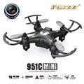 F17687 FQ777-951C MINI Com Câmera 0.3MP Headless Modo 2.4G 4CH 6 Eixo RC Quadcopter Drone RTF Suporte cartão SD