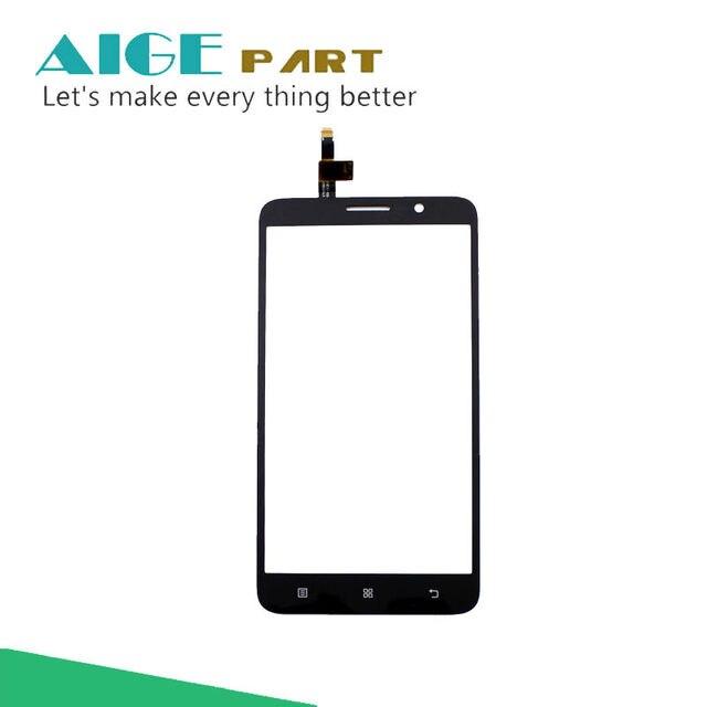 """5.5 """"para lenovo a850 plus sensor de toque do painel de vidro digitador da tela para lenovo a850 plus preto cor branca frete grátis"""