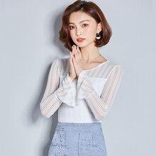 ビジネスの女性カジュアルシフォンシャツ夏カジュアルシャツ I476440
