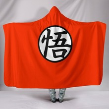 Hooded Blanket 3D Naruto Comfort Soft Kids Wearable Blankets