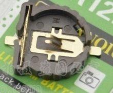 Batterie avec bouton de soudure horizontal 3 v, 5 pièces/lot, CR1220, 2015 + 2 broches