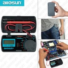 all-sun EM3081 Autorange digital multimeter 3 1/2 1999 low battery indication overload protection MULTIMETER automotive tester