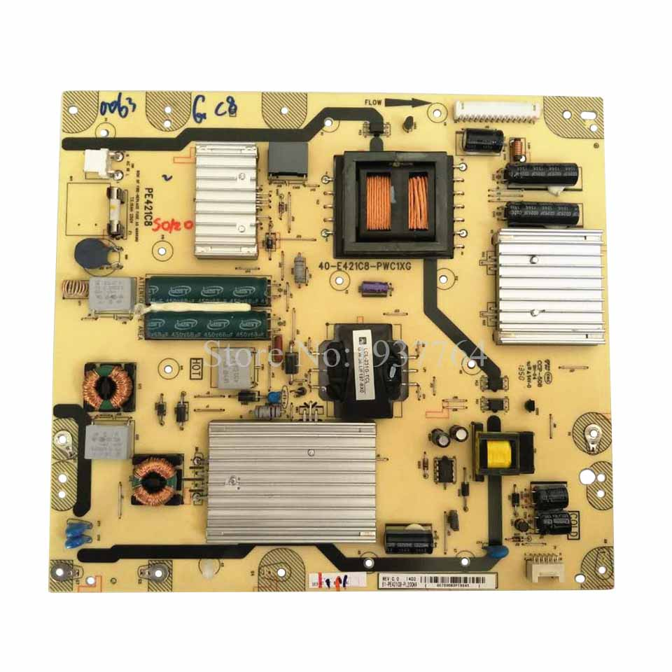 95% new original for Power Board L55F3600A-3D PE421C8 40-E421C8-PWC1XG Tested Working motherboard for ci7zs 2 0 370 industrial board ci7zs 2 0 original 95%new well tested working one year warranty