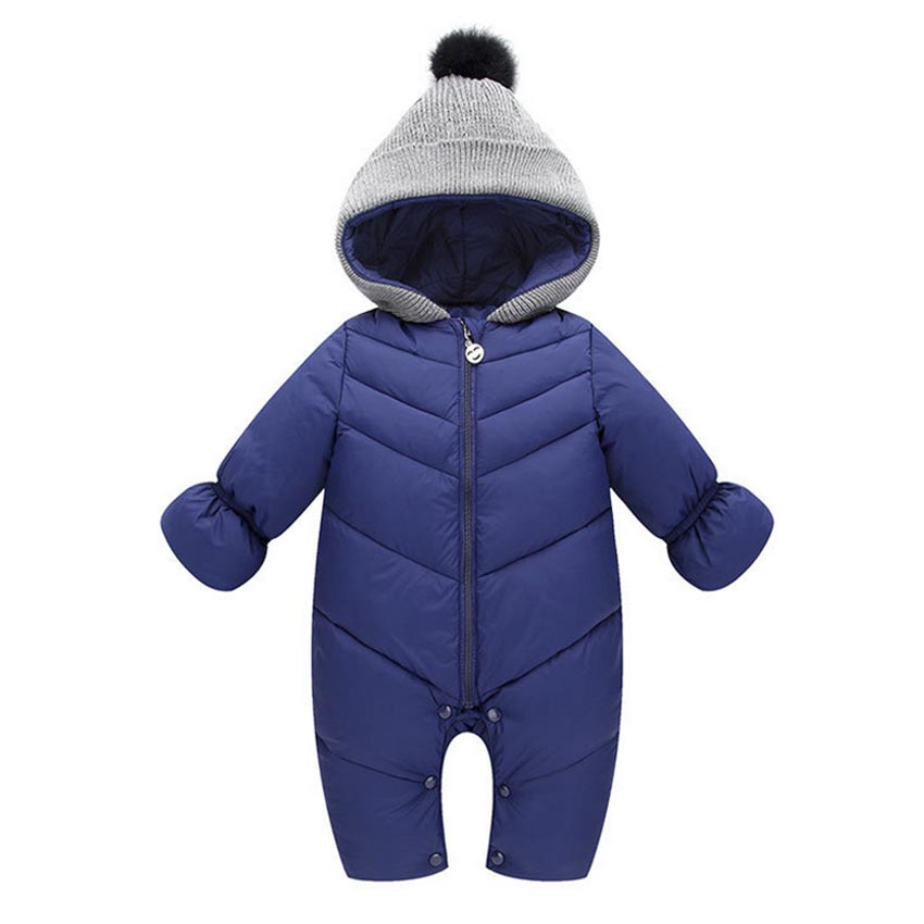 b3d95513429c Buy UVKKC Baby rompers winter upset polyester baby girl boy Snowsuit ...
