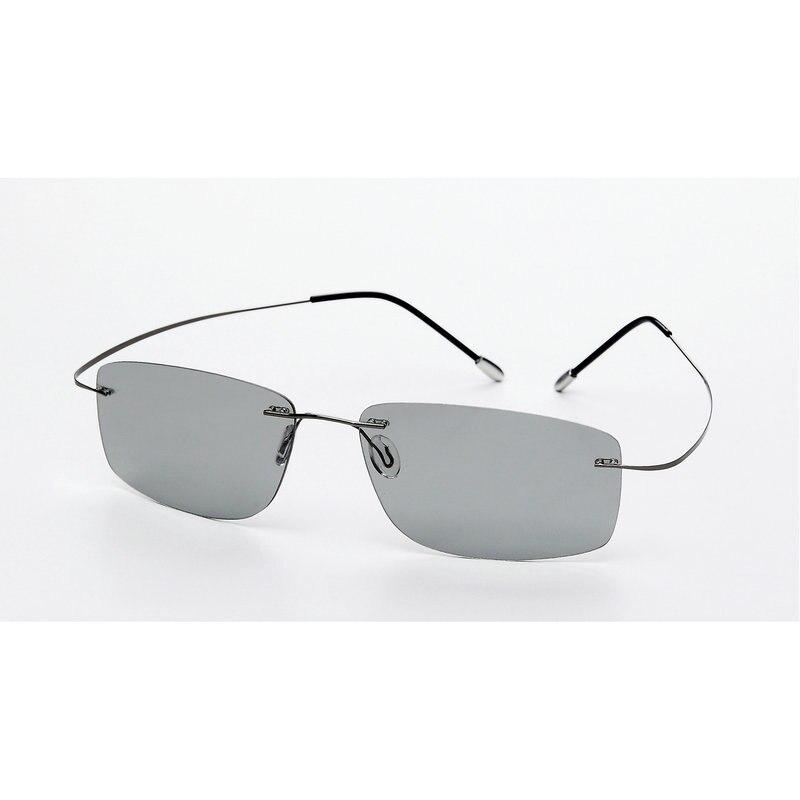 (5s change color) change color sunglasses men's and women's titanium polarized sunglasses chameleon boundless glare driving NX 1