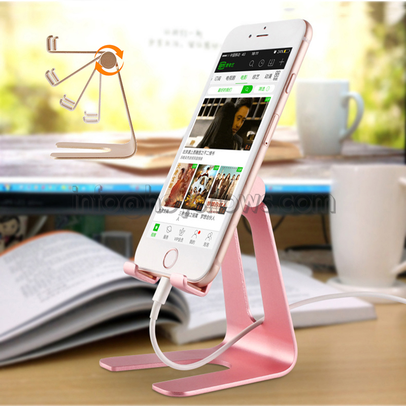 Mobile Phone Holder Stand for iPhone 8 X 7 Phone Stand Adjustable for Samsung Xiaomi Huawei Tablet Holder Cell Phone Desk Holder universal mobile phone cell phone holder stand black