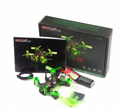JMT Mantis 85 Micro FPV RACING DRONE BNF with Frsky D8 / Flysky 8ch / Specktrum DSM-2 Receiver jmt bat 100 100mm carbon fiber diy fpv micro brushless racing airplane drone bnf with frsky flysky dsm x wfly rx receiver