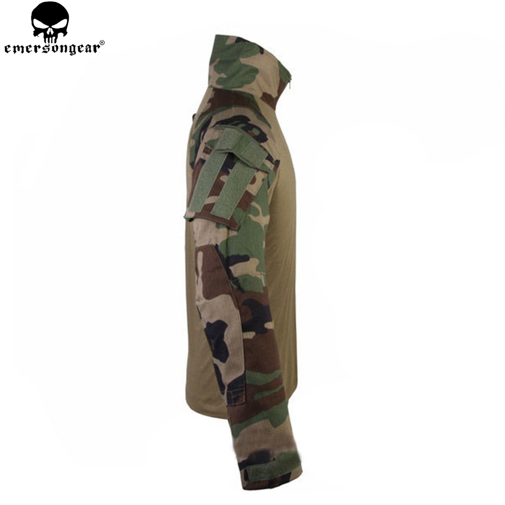 Image 5 - EMERSONGEAR Combat Pants Uniform Tactical Pants with Knee Pads Military Army Multicam Pants Shirt Hunting Clothes WoodlandHunting Ghillie Suits   -