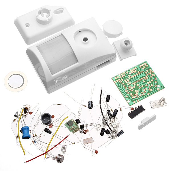 90db Infrared IR Body Sensor Induction Electronic Alarm Kit Electronic DIY Learning Kit Home Safely Security