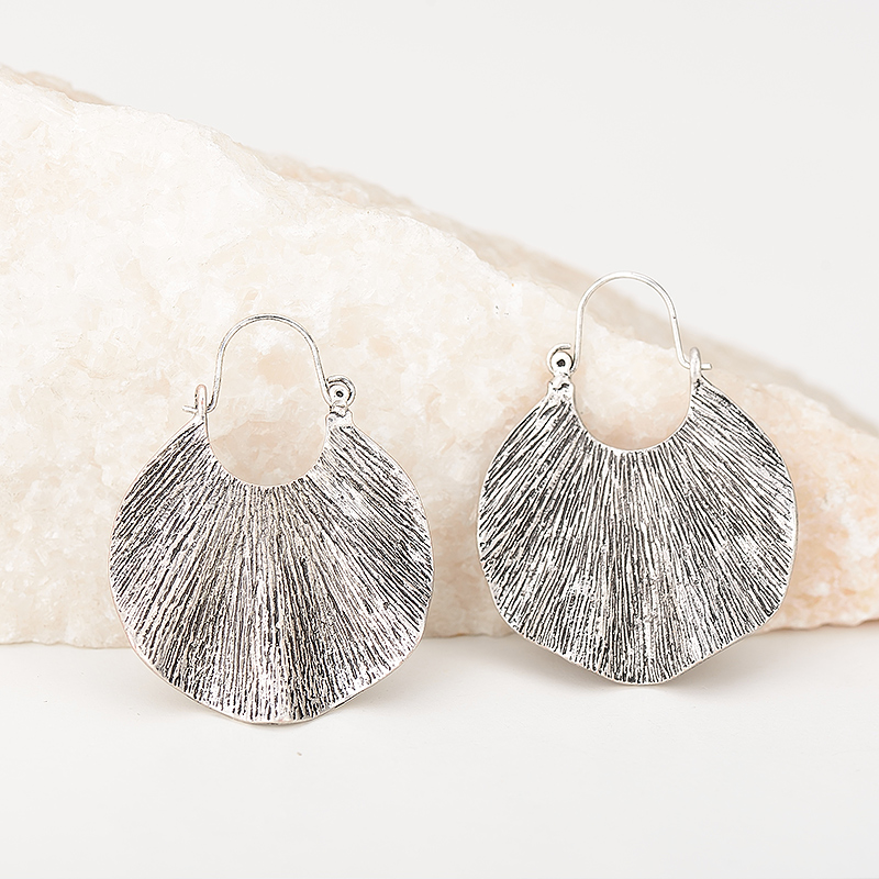 Wanita Trendy Gaya Emas Geometris Bentuk drop Earrings Vintage Zinc - Perhiasan fashion - Foto 5