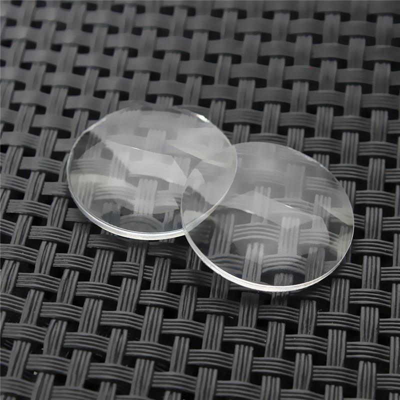 2pcs/lot 25mm x 45mm BiConvex Lens for Google Cardboard DIY 3D VR Glasses High quality 3d очки oem diy google vr 3d 3dglasgg