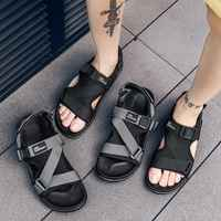 Men Sandals Gladiators Casual Roman Shoes Outside Breathable Mens Sandals Summer Comfortable Light Sandalias Hombre Plus Size 48