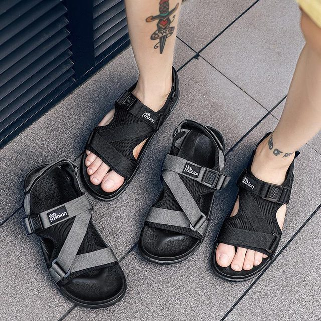 Men Sandals Gladiators Casual Roman Shoes Outside Breathable Mens Sandals Summer Comfortable Light Sandalias Hombre Plus Size 46