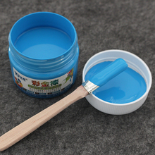 Blue Water-based Paint ,Metallic lacquer , wood varnish, Furniture Color change, wall,door,crafts, Painting,100g per bottle